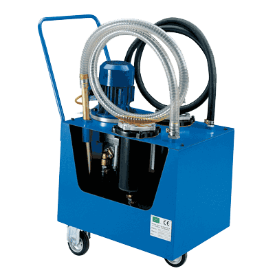 Washing and filtering equipment